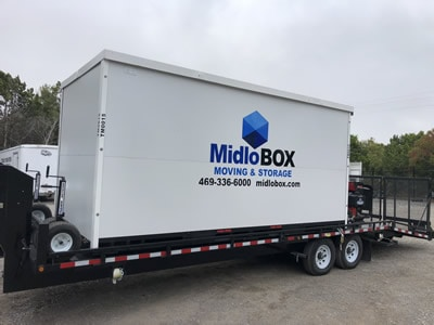 Midlobox on Trailer